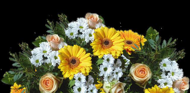 uspořádání květin