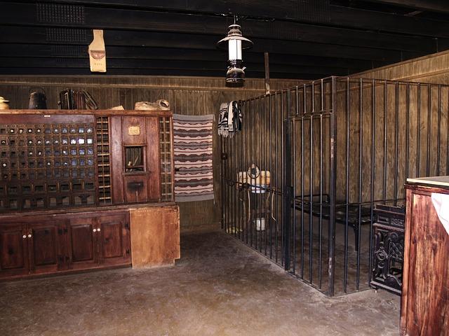 místnost šerifa