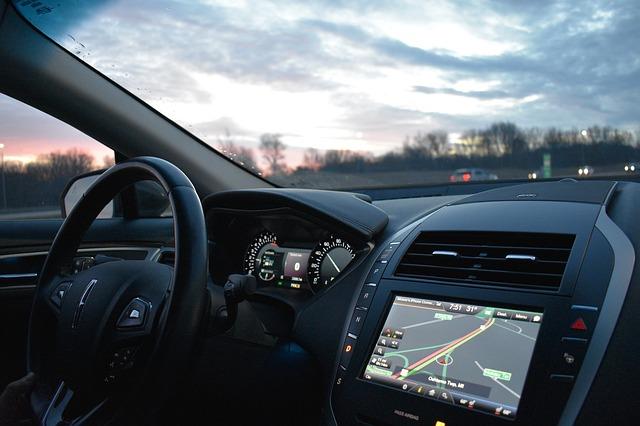 auto navigace