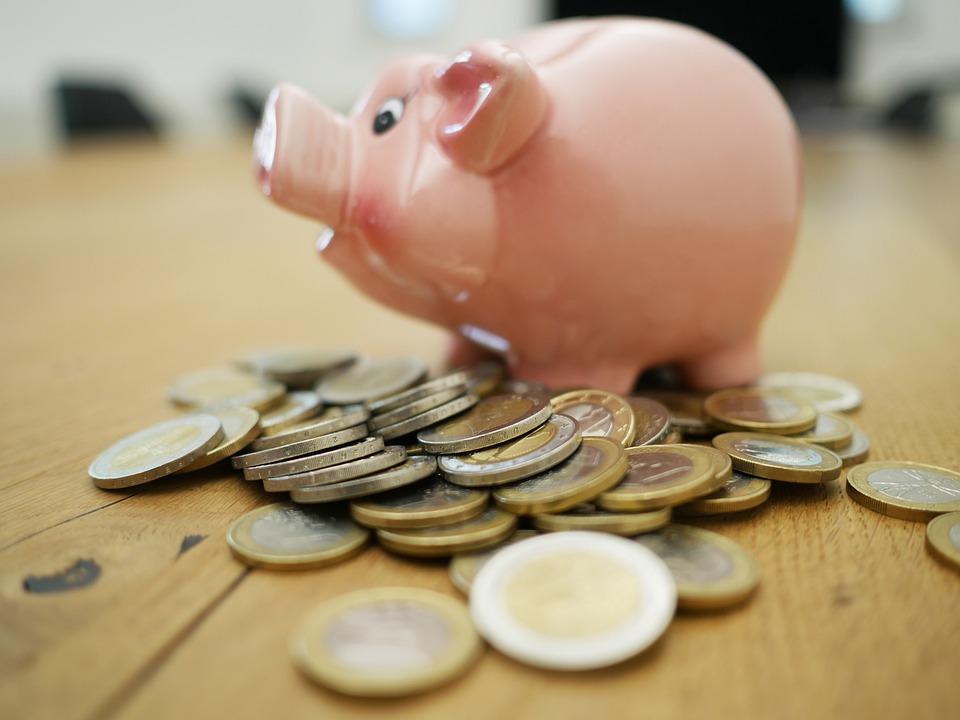 prasátko s mincemi